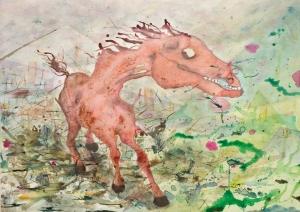 triptico caballo s