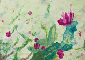 triptico flor s